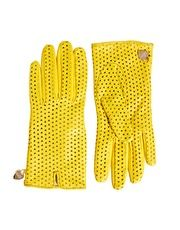 I want these so bad!  Moschino Cheap & Chic Perforated Heart Gloves