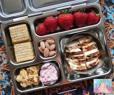 Healthy kids school lunch box tips.