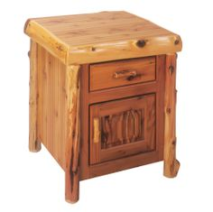 traditional enclosed nightstand