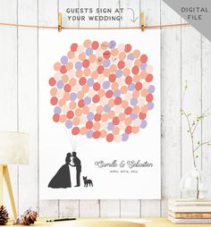 Hey, I found this really awesome Etsy listing at https://www.etsy.com/listing/109868881/printable-wedding-guest-book-alternative