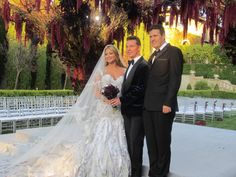 """Beverly Hills Wedding: Nick Candy and Holly Valance (Holly was in the movie """"Taken"""" with Liam Neeson, she played the singing Diva)."""