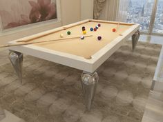 Billiard Table, Dinner Billiard Table, Pool Billiard, Tavolo Biliardo, Snooker, Billiard Room, Billiards - Cabochon by MBM Biliardi