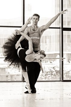 Ballet rehearsal (c) tammy lieberman photography