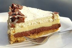 Dort Twilight s chutí cappuccina Czech Desserts, Greek Desserts, Cakes Plus, Czech Recipes, Sweets Cake, Mini Cheesecakes, Sweet And Salty, No Bake Cake, Sweet Recipes