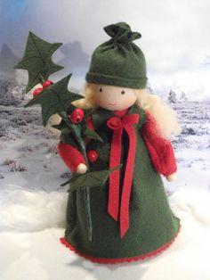 Winter - Ilex/Stechpalme auf Bestellung! - ein Designerstück von tina123 bei DaWanda