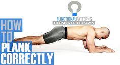 Functional Core Exercises - Proper Execution of the Plank