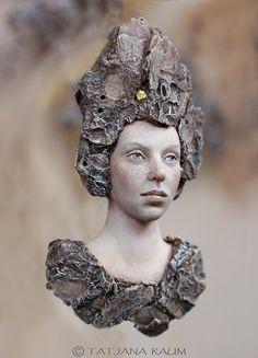 One of a kind Wooden spirit Niida by chopoli on Etsy