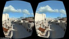 """Incredible 360-degree virtual reality headset transports wearers back 2,000 years to ancient Jerusalem"", reported the Daily Mail on Friday, with similar coverage appearing in Live Science, the Times of Israel and other media sources. It's a testament to the ability of archaeology to captivate us and the power of VR tech to immerse and connect us with the past. You are standing at the base of the Western Wall in Jerusalem, and it towers above you with breathtaking scale. Around ..."