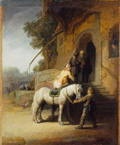 Rembrandt, The Good Samaritan, 1630 - By kind permission of the Trustees of the Wallace Collection