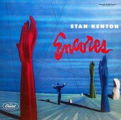 Stan Kenton ● Encores #LP #cover