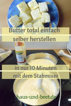 Make your own butter - made easy in 10 minutes - house and bed Homemade Garlic Butter, Garlic Butter Steak, Fish Varieties, Fatty Fish, Grilled Fish, Dinner Rolls, Beets, Fish Recipes, Make It Simple