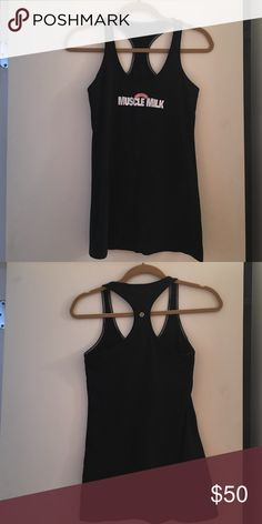 Lululemon muscle milk tank Exclusive item. Cannot be bought in stores. Great condition.  No pilling. lululemon athletica Tops Tank Tops