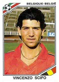 138 Civenzo Scifo - Belgium - FIFA World Cup Mexico 1986