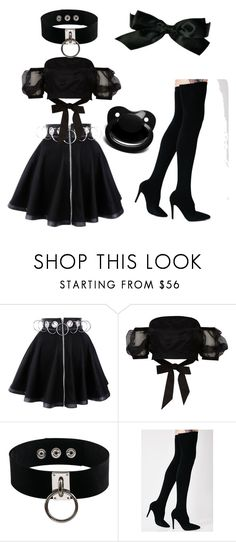 """Untitled #12"" by jossyphone ❤ liked on Polyvore featuring River Island, Manokhi, Cape Robbin and Chanel"