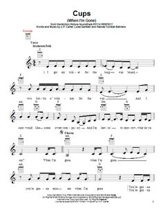 Anna Kendrick: Cups (When I'm Gone) - Partition Ukulele - Plus de partitions à imprimer ! Cool Ukulele, Ukulele Tabs, Ukulele Songs, Ukulele Chords, Anna Kendrick, Song Sheet, Sheet Music, Vocal Warmups, Ancient Music