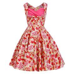 2c3a3c5fd9ee64 PInk Floral Dress Bridesmaid Dress Summer Dress Vintage Dress Pinup Dress  50s Party Dress Prom Dress Rockabilly Dress Swing Dress