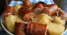 Crock pot Sausage with Sauerkraut and Potatoes-----Making this again, the caraway seeds add a great taste, but..for a greater taste , consider toasting the caraway seeds in a frying pan until fragrant as it  will add a completely new element to your stew crock pot recipe's ,