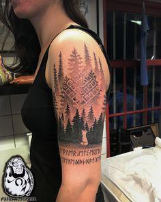 For info or appointments -> info@luckycharmtattoo.nl  @fabienne_lctattoo @lucky_charm_tattoo  #amsterdamtattoo #tattoo #tattooamsterdam #tattoolife #tattooshop #inkedup #holland #tattoodo #tattoogirls #colortattoo #blackwork #blackworkerssubmission #GoVegan #blackandgreytattoo #iblackwork #onlyblackart #btattooing #blacktattoomag #dotwork #stippling #flashaddicted #tttism #taot #inkig #femaletattooartist #tattoosnob #oldlines #forest #runes #fox
