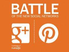 La batalla de las nuevas redes sociales: Google Plus vs. Pinterest   Maria Jose Lopez