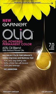 Cosmetic Chemist Review, Ingredients: Garnier Olia – Oil Powered Permanent Hair Color – Is Water Or Oil-Based Hair Color Better?