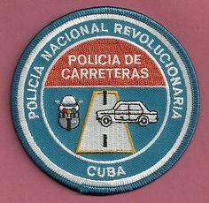 POLICIA-NACIONAL-DE-CARRETERAS-CUBA-HIGHWAY-PATROL-POLICE-PATCH