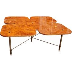 Italian 70's Coffee Table | From a unique collection of antique and modern coffee and cocktail tables at https://www.1stdibs.com/furniture/tables/coffee-tables-cocktail-tables/