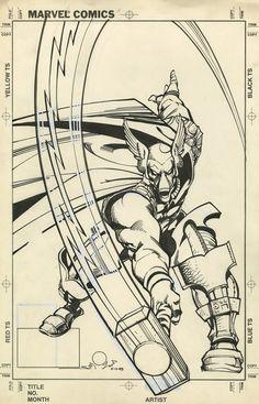 Original Cover Art for Thor #337 by Walt Simonson