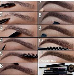 The perfect eyebrows....