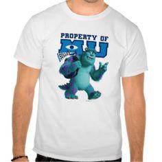 Sulley Property of MU Tshirts   Monsters University