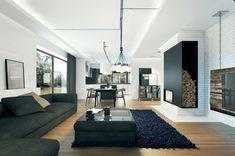 Led Deckenbeleuchtung mit weißem Licht an der Decke
