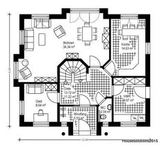 93 Besten Grundrisse Bilder Auf Pinterest Grundrisse Haus