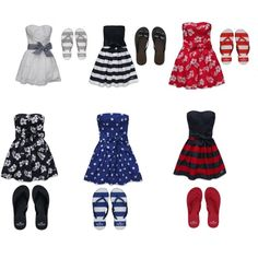 Hollister Dresses! (: Have one.. Not one on this picture though!!
