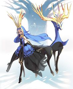 Image discovered by Eevee-chan. Find images and videos about pokemon, meal and xerneas on We Heart It - the app to get lost in what you love. Pokemon Comics, Pokemon Fan Art, Solgaleo Pokemon, Gijinka Pokemon, Pokemon People, Pokemon Anime Characters, Pokemon Fairy, Cosplay Pokemon, Photo Pokémon