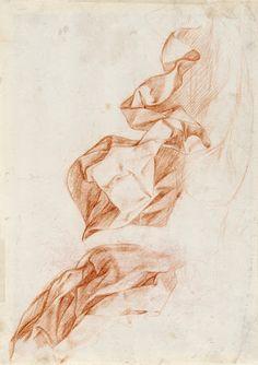 Study of drapes - Antonio del Castillo Saavedra — Google Arts & Culture