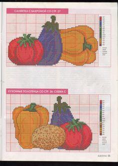 Gallery.ru / Φωτογραφίες # 50-19 - Kento Plastic Canvas, Cross Stitch, Embroidery, Crafts, Kitchen Towels, Butterfly, Small Cross Stitch, Cross Stitch Letters, Crochet Pillow