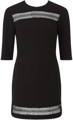 Miss Selfridge Lace Insert Dress