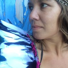 Brand new feather wings. Perfect for festivals and general merriment. Feathers And Thread Uk. All made to order. Fast delivery.