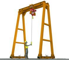 5 ton gantry crane plans papacad.com Gantry Crane, Crane Drawing, Technical Documentation, Crane Design, Autodesk Inventor, 3d Cad Models, Steel Structure, Technical Drawing, Autocad