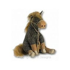 Gem Horse Doorstop By Dora Designs