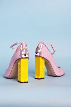 Lila and Cloe: PEZ CLASSICS shoes by Camilla Elphick