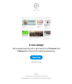 A new design - Really Good Emails