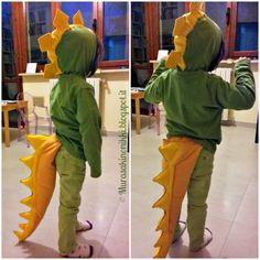 Murasaki no Nikki: Dinosauri anche a Carnevale! Ecco il nostro costume da dinosauro fai da te