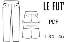 "Patron ""Le Fut"" - PDF (34-46) from Chut Charlotte !"