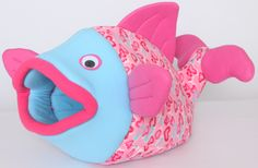"Show how much you love your pet with this pink hearts flounder. 28"" long, 18"" wide and 18"" high. Great for cats, ferrets, hedgehogs and small dogs. $50 at www.petthreads.net"
