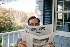 Morning Rituals: put the iPad down, and pick up the newspaper.