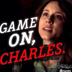 """6x1 """"Game on, Charles"""""""