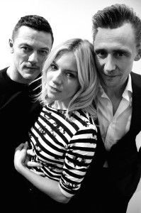 Tom Hiddleston, Sienna Miller, Luke Evans, Paper