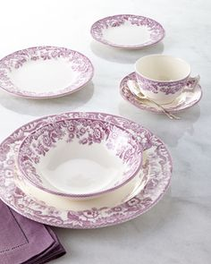 Spode Delamere Bouquet Dinnerware from Horchow's website #DelamereBouquet #Spode