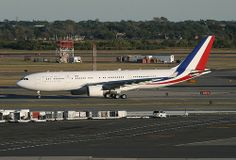 FRANCE AIR FORCE, Republique Francaise, Airbus A330 (A330-200), F-RARF, at JFK, New York, USA. Sept 2013
