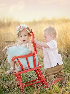 family pictures chair, headband, famili photographi, rocking chairs, red chair, antique chairs, chair redo, kid